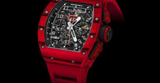 Richard Mille RM 011 Red TPT Quartz – Limited Edition