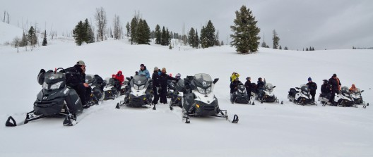 Snowmobile to Serenity Package at Scenic Safaris, Brooks Lake Lodge