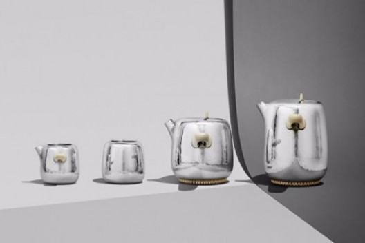 Silver Tea Service By Marc Newson And George Jensen