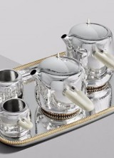 £82,000 Silver Tea Service By Marc Newson And George Jensen