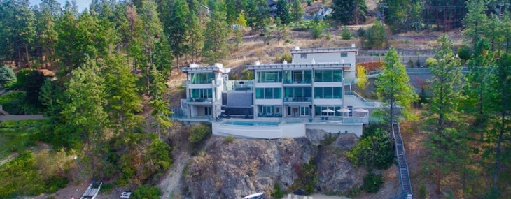 Sleek Waterfront Kelowna, B.C. Residence On Sale For $6.9 Million