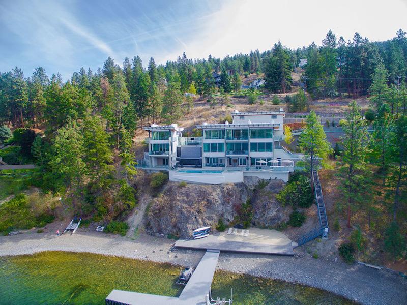 Sleek Kelowna, B.C. Residence Offered At $6.9-Million