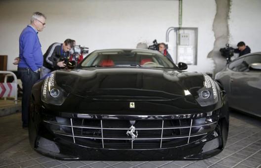 Two Ferraris Belonged To Former Spanish King