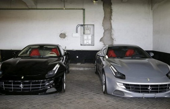 Two Ferraris Belonged To Former Spanish King