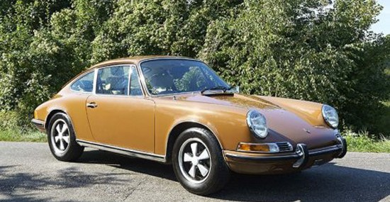 Steve McQueen's Porsche 911T At Christie's Exceptional Sale