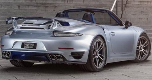 TechArt Porsche 911 Turbo S Cabrio