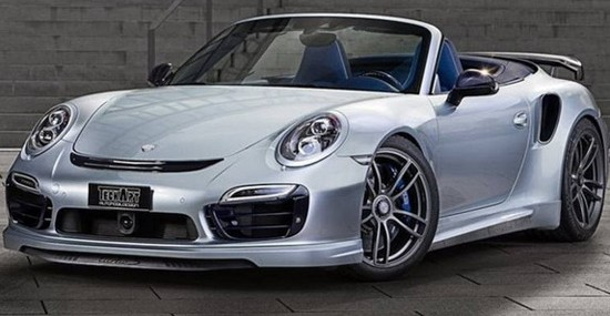 Porsche 911 Turbo S Cabrio By TechArt