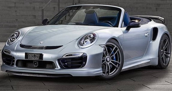 TechArt Porsche 911 Turbo S Cabrio