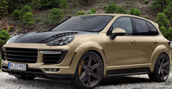 TopCar Porsche Cayenne Turbo With Gold Vantage Package