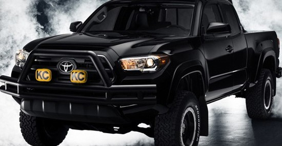 Special Toyota Tacoma Back to the Future Model