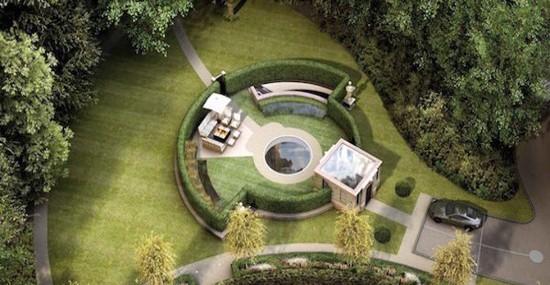 £2.4 Million Luxurious Eco-Friendly Villa Below Ground