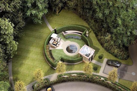 Eco-Friendly Villa Below Ground