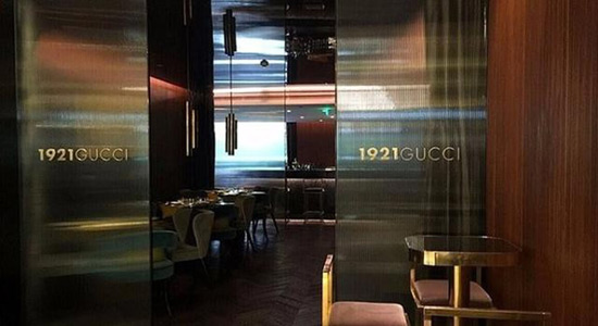 1921 Gucci Café - World's First Gucci Restaurant Opened In Shanghai