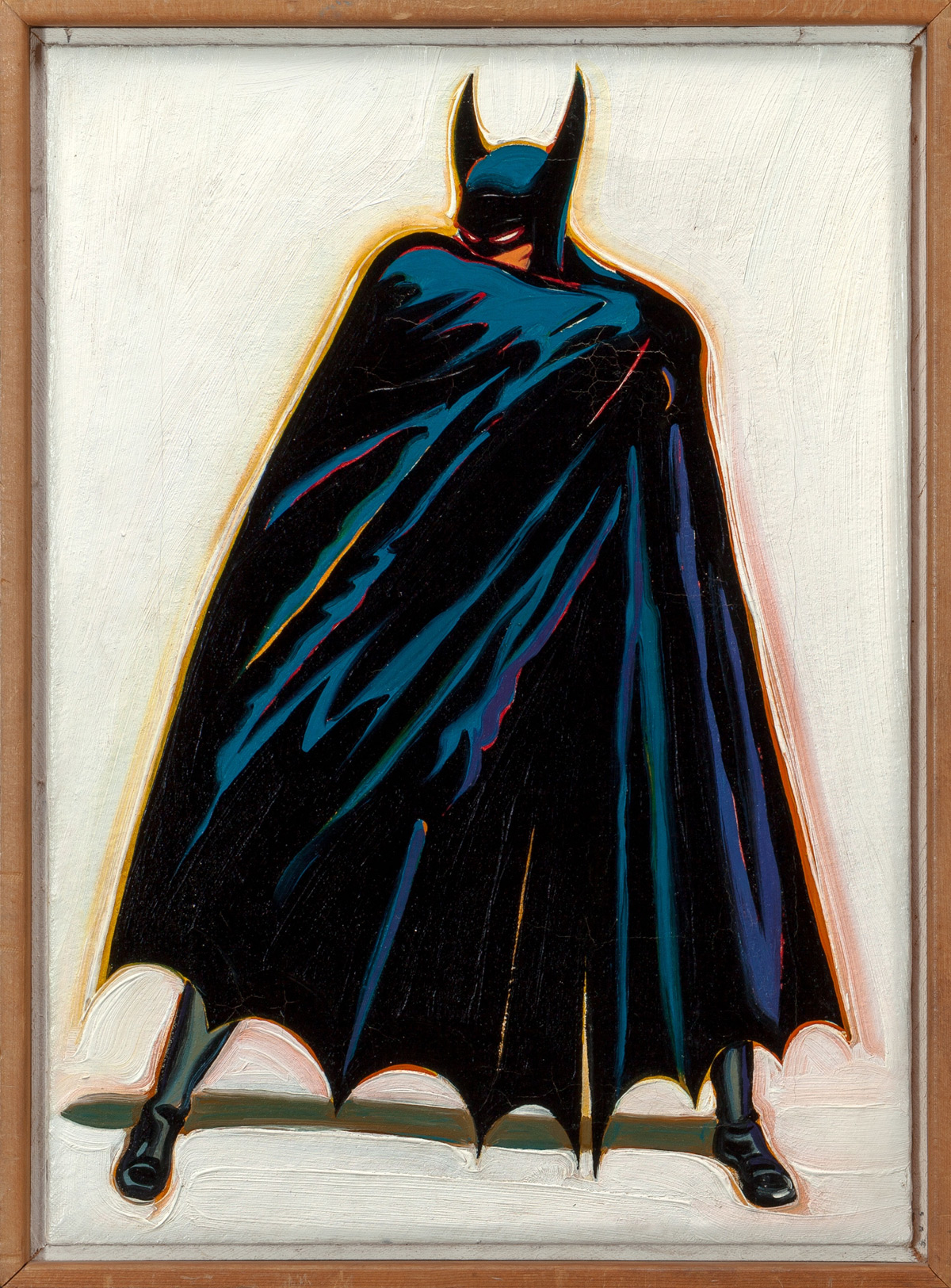 Long 'Missing' 1962 Mel Ramos Batman Painting Could Fetch $100,000 At Auction