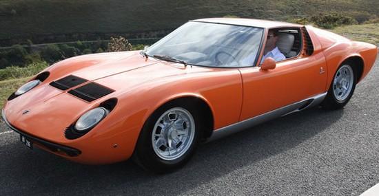 1968 Lamborghini Miura From 'The Italian Job' On Sale