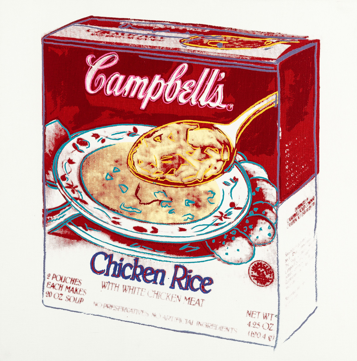 Andy Warhol's Iconic Campbell's Soup Box From 1986 Could Fetch $150,000 At Auction