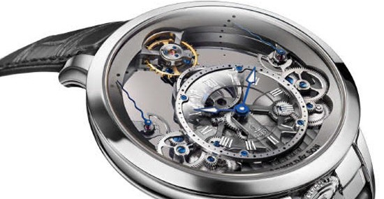 Arnold & Son's New Reference Of Its Iconic Time Pyramid