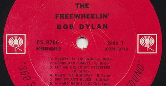Rare Version of Bob Dylan's Album on eBay With Starting Price of $100,000