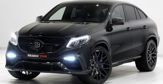 Mercedes GLE Coupe With Brabus B63S 700 Package
