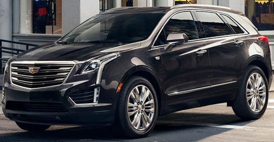New Cadillac XT5 At Los Angeles Auto Show