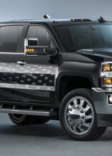 "Chevrolet Silverado 3500HD Inspired By Kid Rock's ""Born Free"" Song"