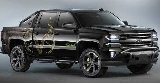 Chevrolet Silverado Realtree Bone Collector For Adventurers