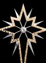 World's Most Glamorous Christmas Tree Star by 77 Diamonds