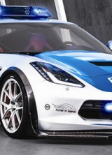TIKT Performance Corvette C7 Stingray Police