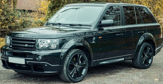 David Beckham's Range Rover Sport Up For Auction
