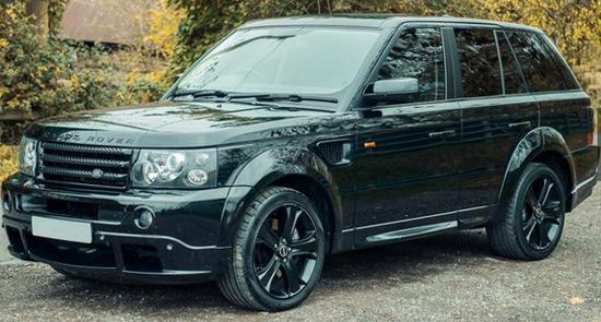 David Beckham's Range Rover Sport