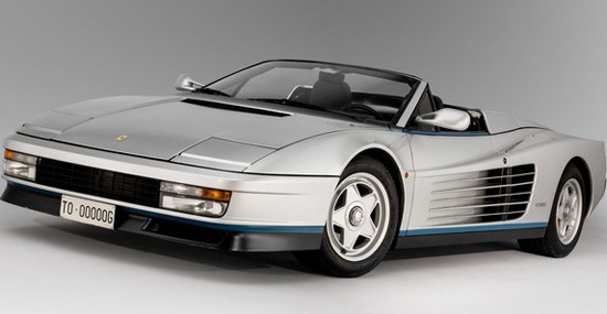 Ferrari Testarossa Spider Owned By Gianni Agnelli At Auction