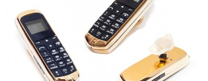 Goldgenie's 24K Gold Smartphone That Fits On Your Ear
