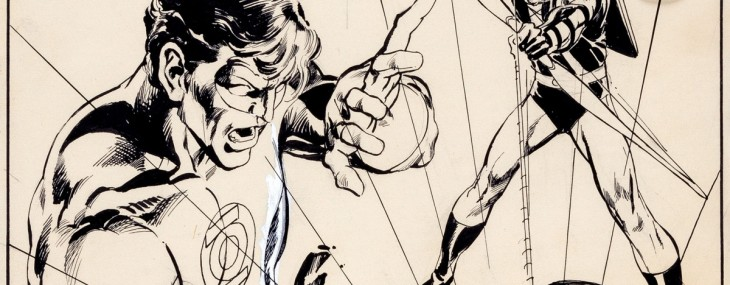 Neal Adams' Original Cover Art For Green Lantern #76 Readies For Auction