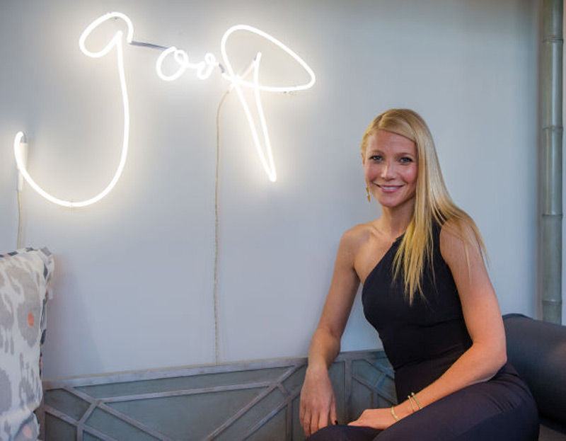 Gwyneth Paltrow's First Pop-up Boutique for Goop Opens In New York