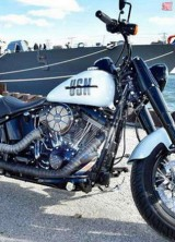 Special Harley-Davidson Bike In Honor Of The USS Milwaukee