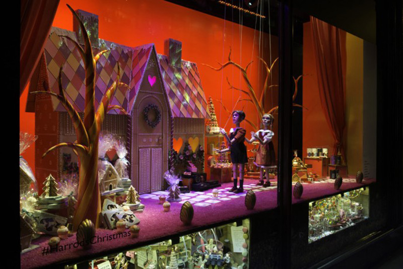 Harrods' Christmas Window 2016 Revealed