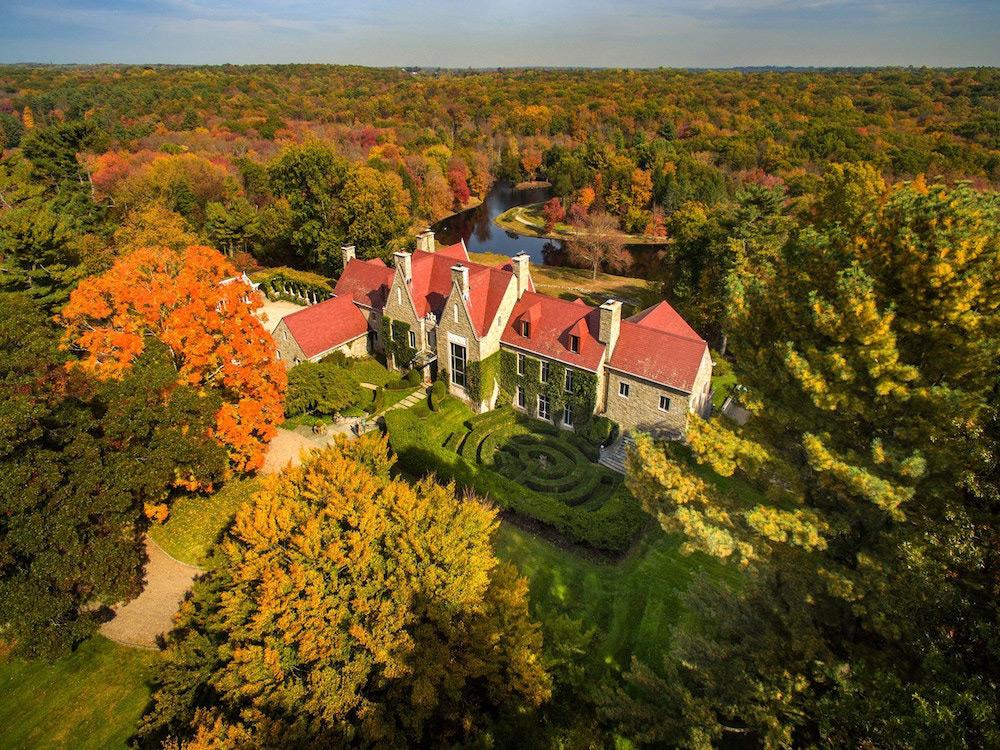 Hillandale - Historic Estate In Stamford On Sale For $75 Million