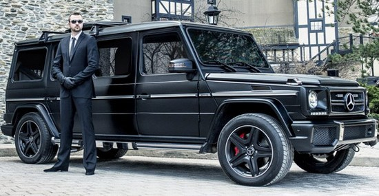 Luxurious And Armored Inkas Mercedes G63 AMG