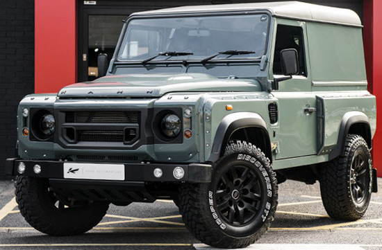 Keswick Green Land Rover Defender 2.2 TDCI Hard Top