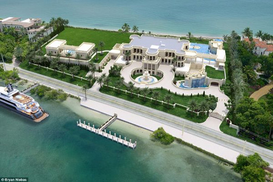 Le Palais Royal in Hillsboro Beach, Florida On Sale For $159 Million - America's Most Expensive Home