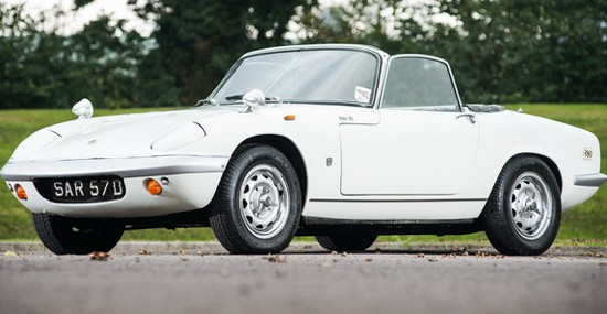 Peter Sellers' Rare 1966 Lotus Elan S2 At Auction