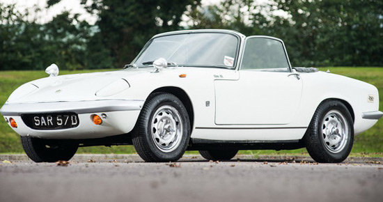 Peter Sellers' Rare 1966 Lotus Elan S2