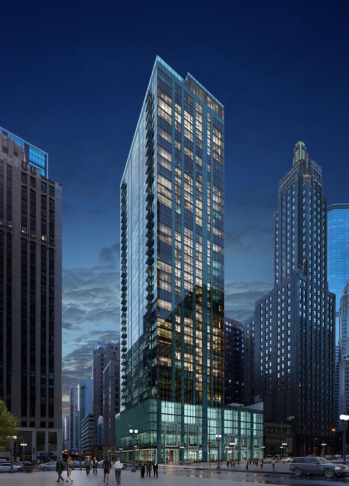 Mila chicago s newest luxury apartment project for Small luxury hotels chicago