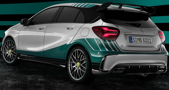 mercedes amg a45 petronas 2015 world champion edition extravaganzi. Black Bedroom Furniture Sets. Home Design Ideas
