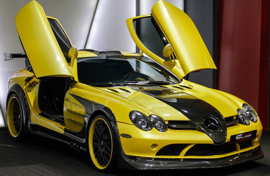 mercedes benz slr mclaren hamann volcano on sale extravaganzi. Cars Review. Best American Auto & Cars Review