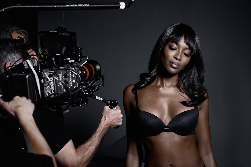 Limited Edition Lingerie Collection by Naomi Campbell And Yamamay