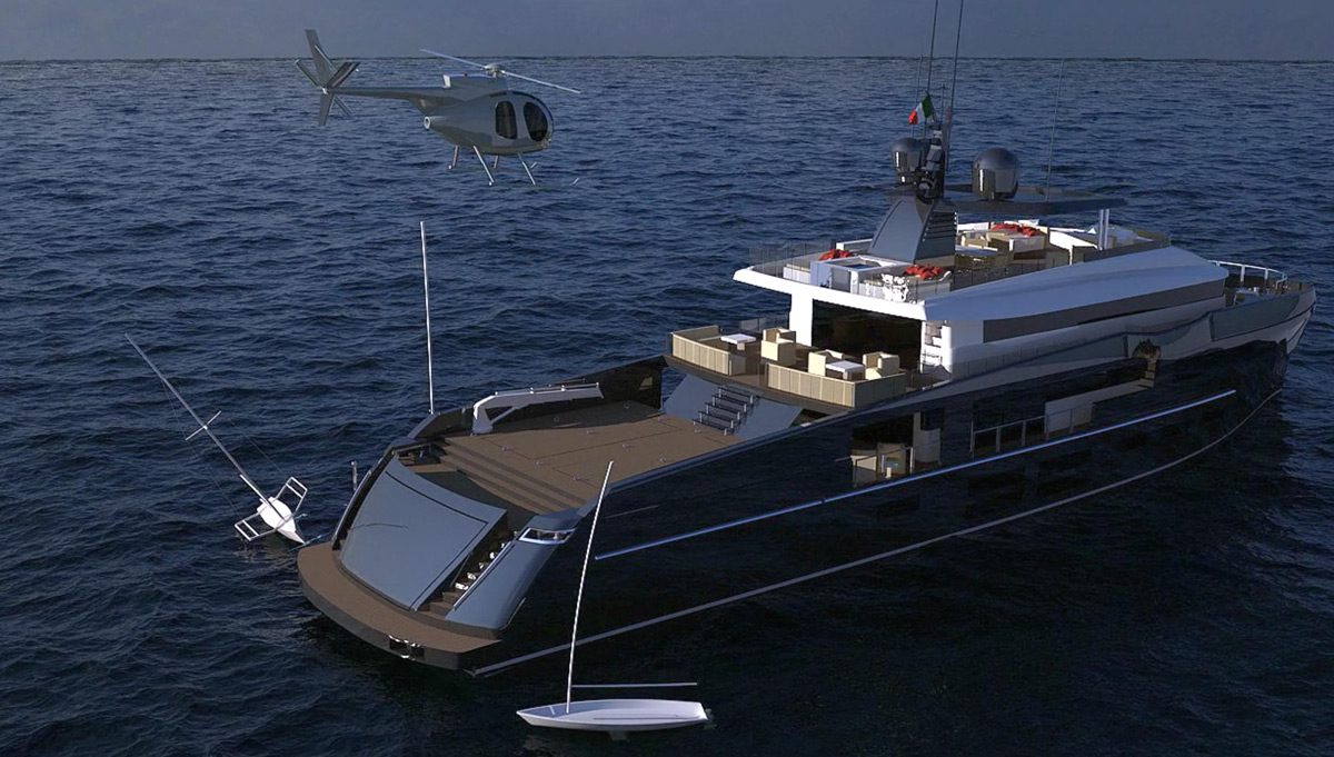 "Nemo 44 - First ""Sport Utility Yacht"" Project by MC Yacht & CO International"