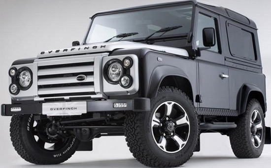 Overfinch Defender 40th Anniversary