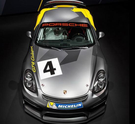 Racing Porsche Cayman Gt4 Clubsport Extravaganzi
