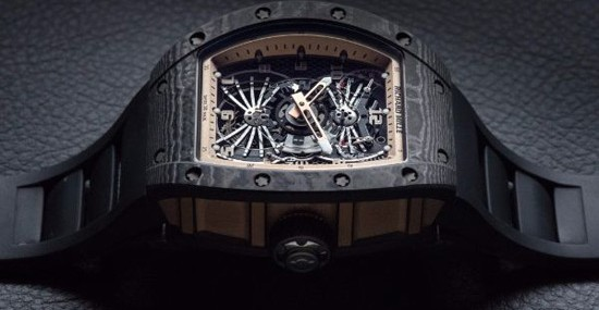 Richard Mille's RM 022 Aerodyne Dual Time Zone Tourbillon